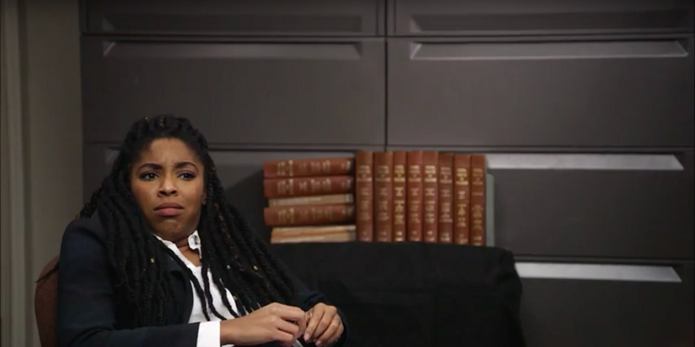 Jessica Williams From The Daily ShowPerfectly Skewers Transphobia