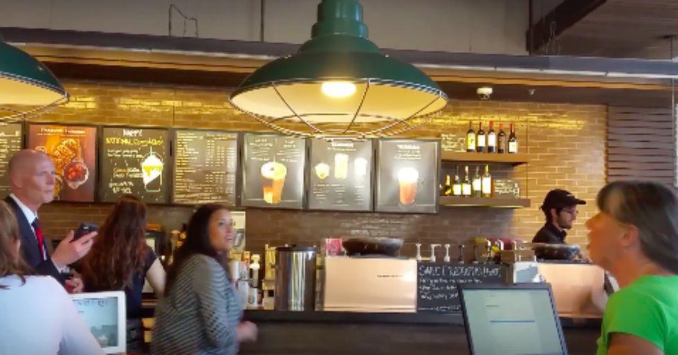 Watch Florida Gov. Rick Scott Get Dressed Down By This Starbucks Customer