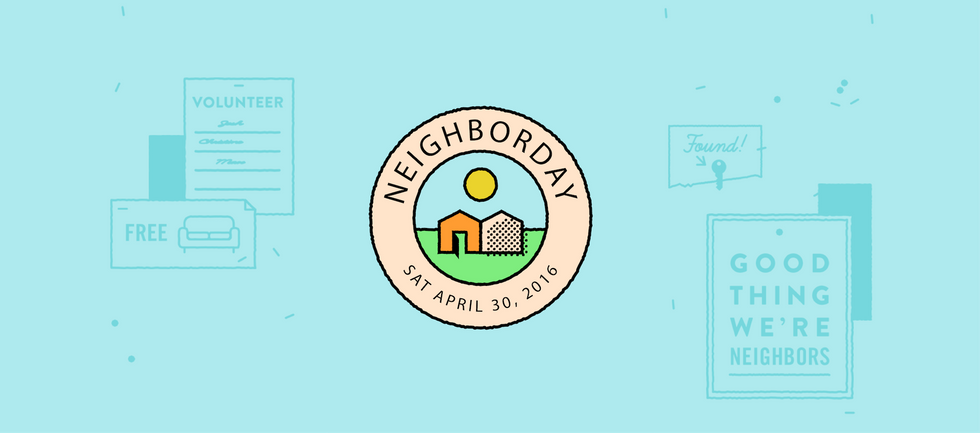 Here's Your Excuse to Finally Meet Your Neighbors