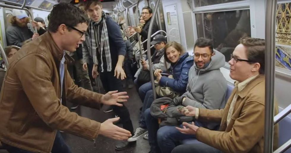 Improv Everywhere Uses Four Sets of Twins for an Awesome Time-Travel Prank