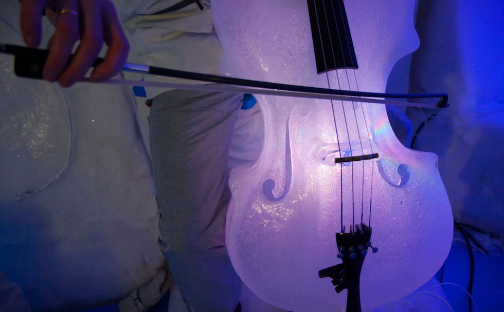 These Ice Instruments Look as Beautiful as They Sound