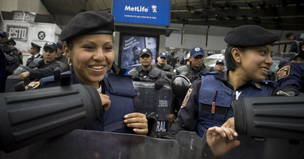 Female Mexican Police Officers Were Forced to Submit to a 'Hotness Test'