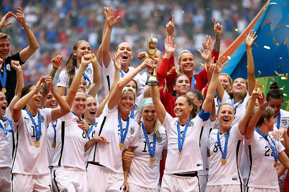 The Women's National Soccer Team Threatens to Skip the Olympics
