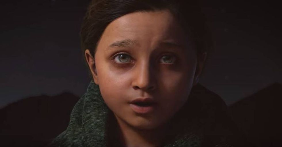 UNICEF Creates a Virtual Girl To Bring Attention To Children Living In Conflict
