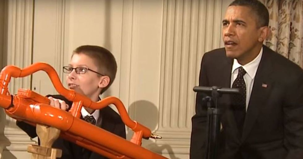 Obama Hosts His Final White House Science Fair