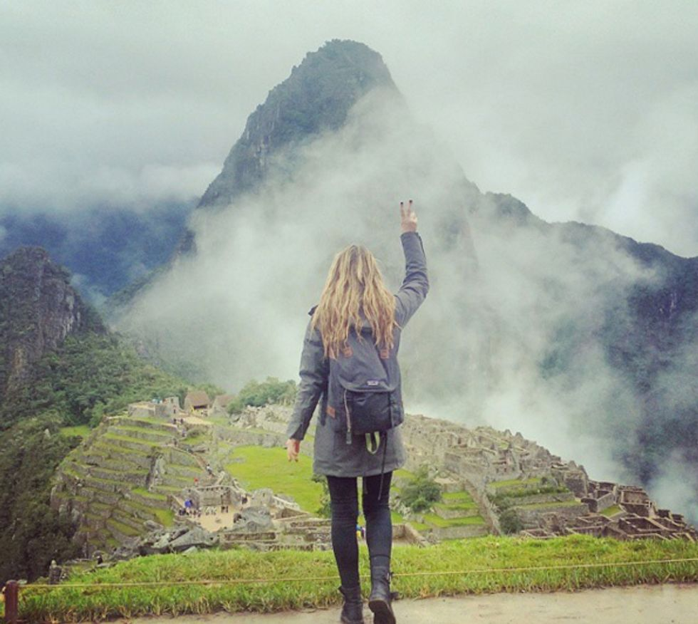 After Some Life Changing News, This Woman Visited Seven Wonders of the World in 13 Days