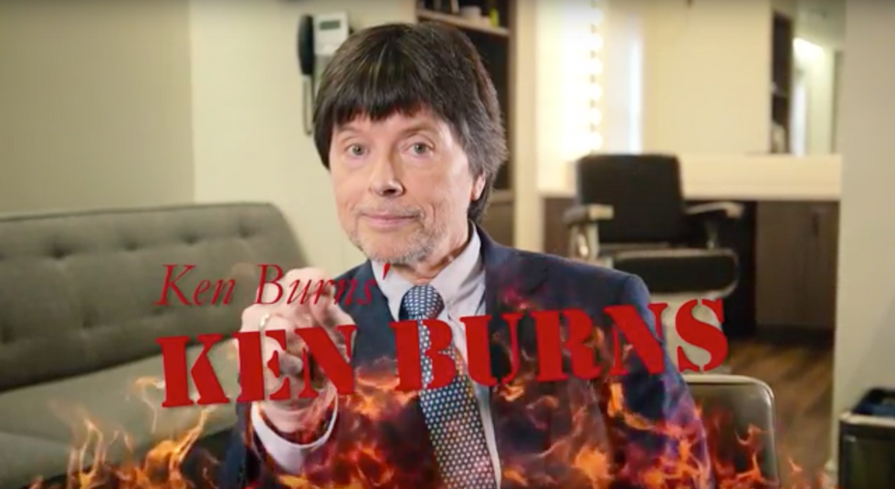 Ken Burns the Comedian is Better Than Ken Burns the Documentarian