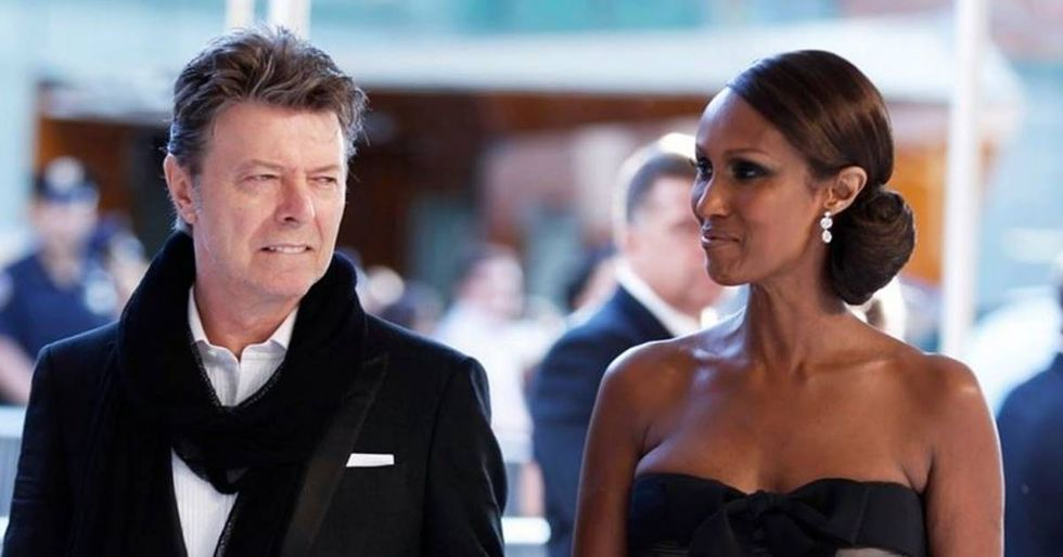 Iman Shares Her Secret To A Lasting Marriage With David Bowie