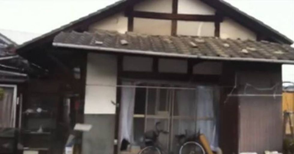 Stabilized Footage Emerges From The Kumamoto Earthquake