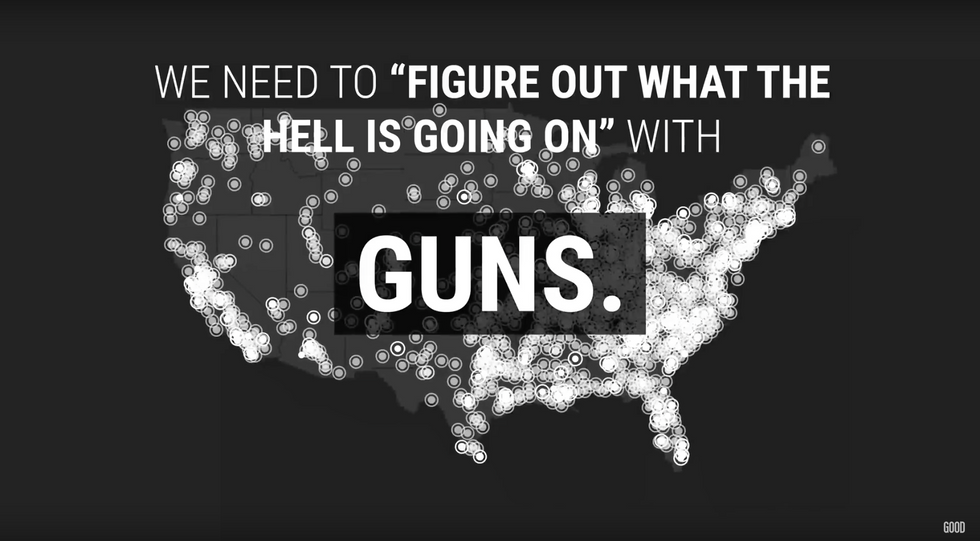 The Causes of Mass Gun Violence Identified