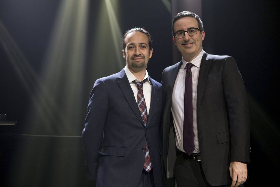 """""""Hamilton"""" Creator And John Oliver Perfectly Explain Why Puerto Rico Is Screwed"""