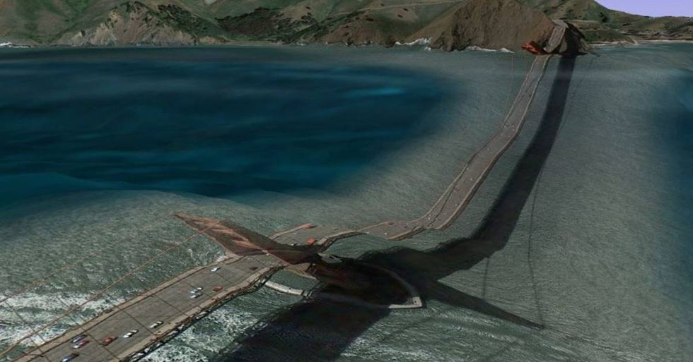 12 Postcards From The Freaky Side of Google Earth