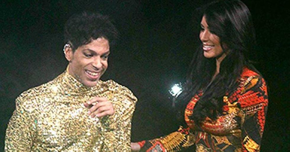 Prince Threw Kim Kardashian Off His Stage at Madison Square Garden In 2011