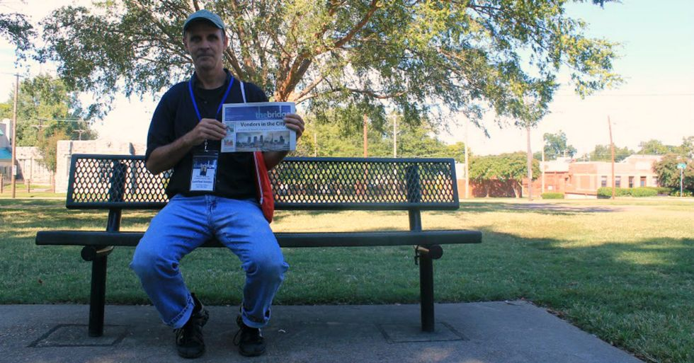 Man Goes From Being Homeless to a Homeowner by Selling Newspapers