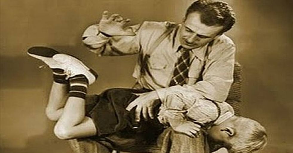 Research Finds Spanking To Be Ineffective And Abusive