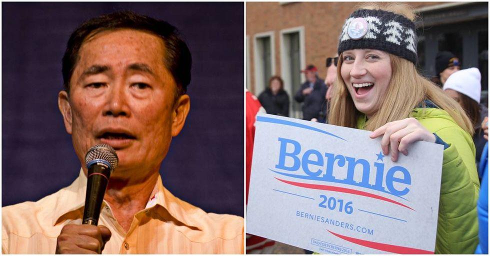 Takei Urges Democrats to #VoteBlueNoMatterWho