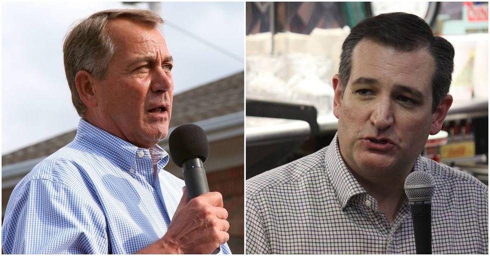 John Boehner Calls Ted Cruz 'Lucifer In The Flesh'