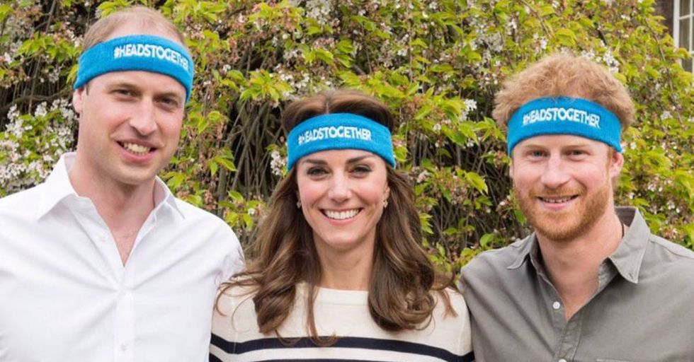 The Royal Family Comes Together To Fight The Stigma Surrounding Mental Illness