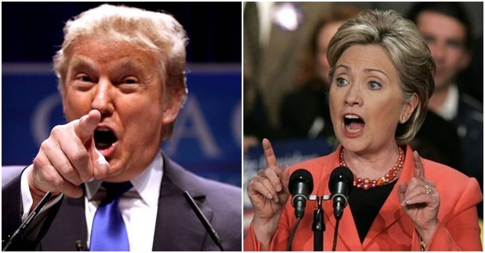 Donald Trump Accuses Hillary Clinton Of Playing The 'Woman Card'