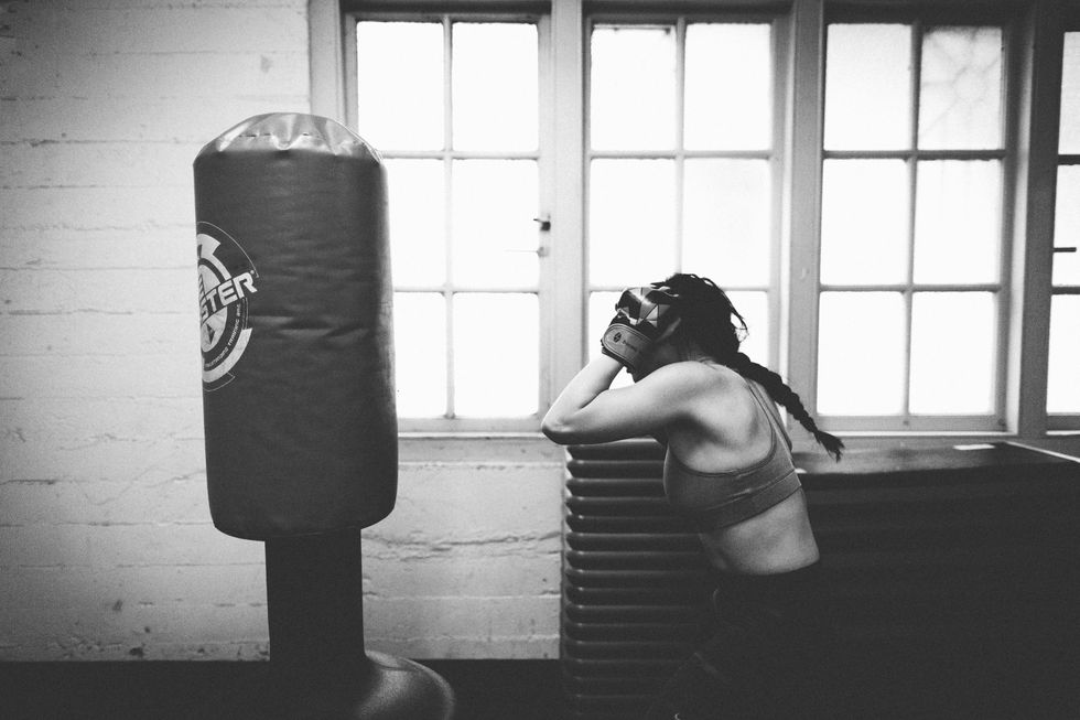 "Meet The Female Fighter Building A Better Boxing Glove For ""Badass Women"""