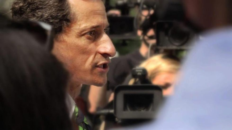 Here Are The Best Moments From The New Anthony Weiner Doc On His Sexting Scandal