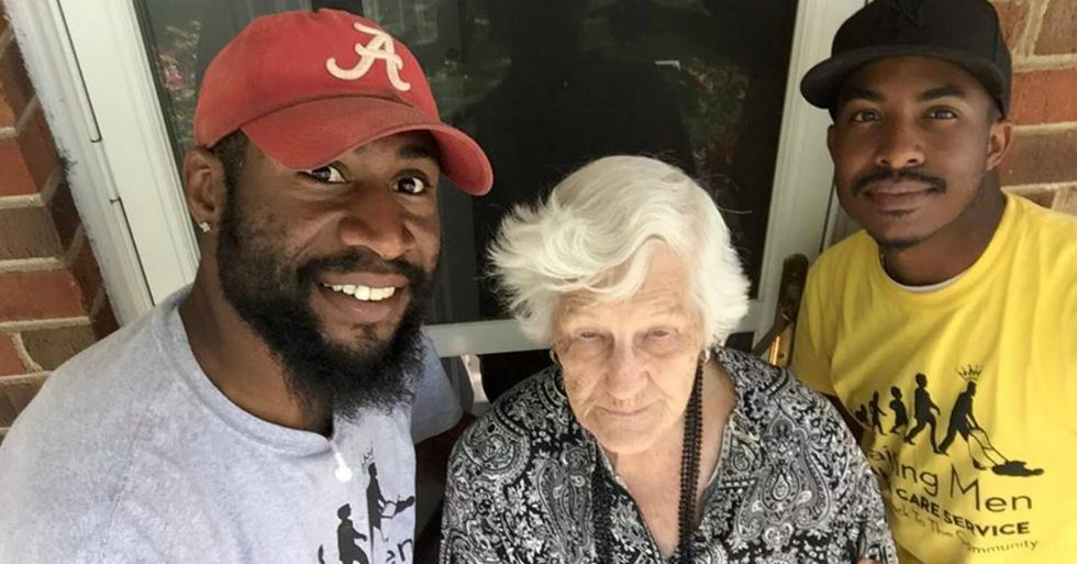College Student Starts A Free Lawn Service For The Elderly, Inspiring Others To Give Back