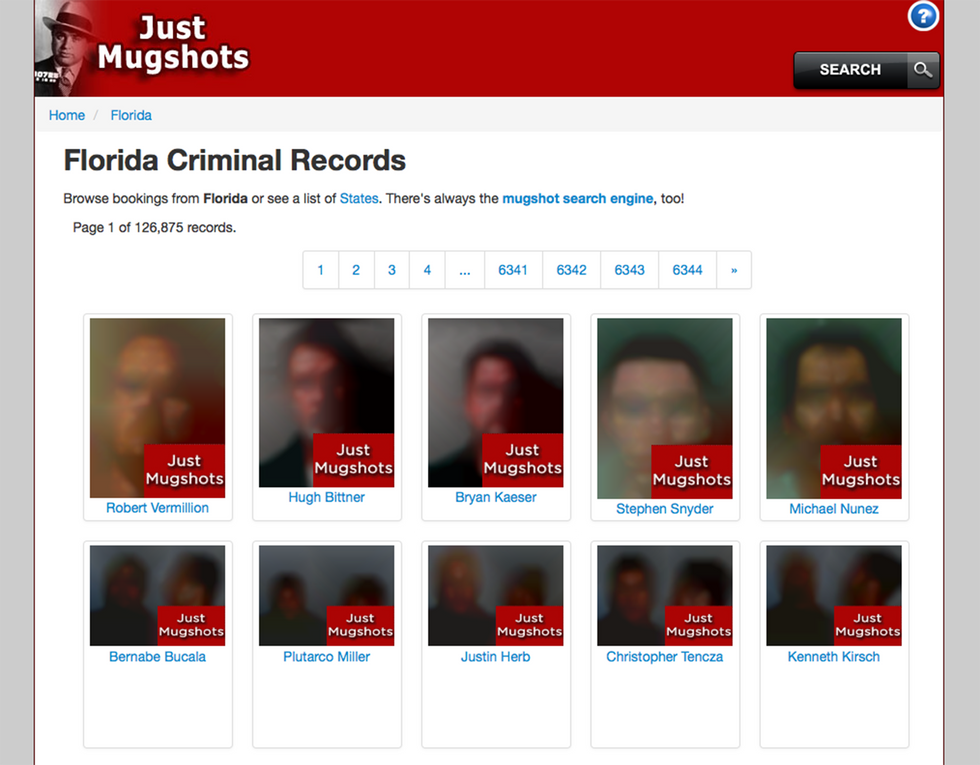 An Artist Blurs More Than 15 Million Mugshots To Protect Your Right To Privacy