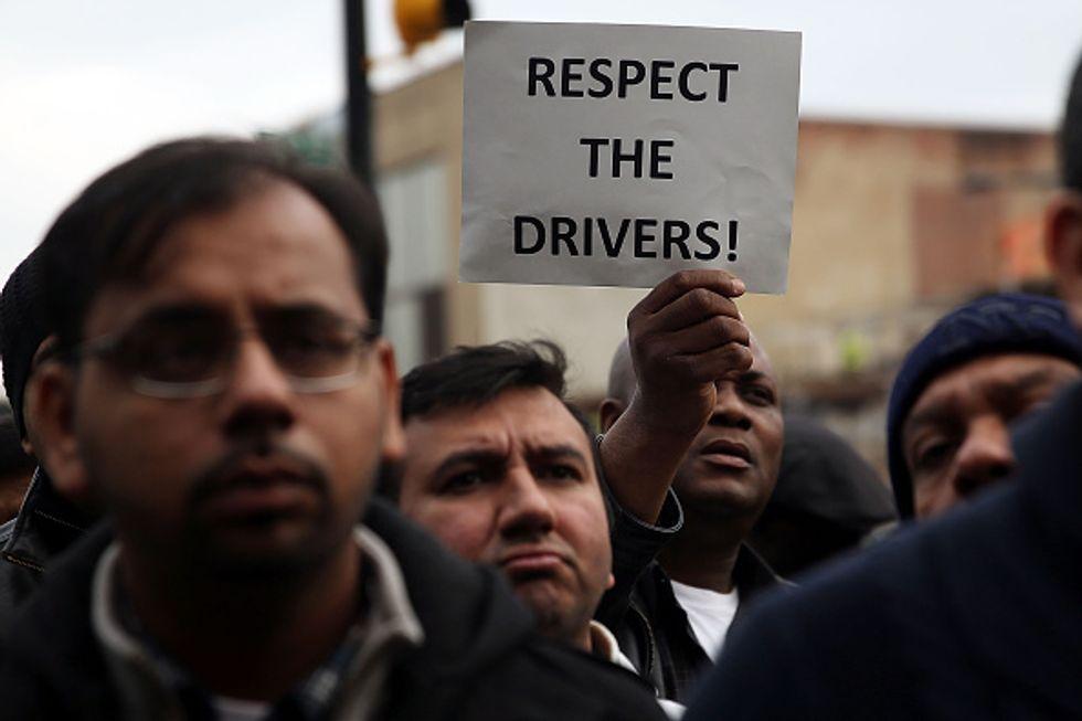 N.Y.C. Uber DriversFinally Allowed To Organize