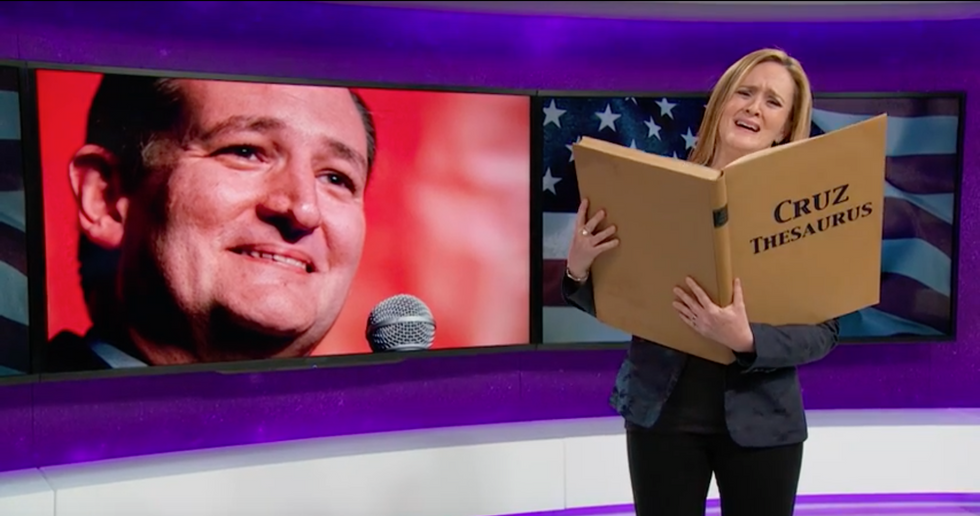 ​It's Official: Samantha Bee Is The New Jon Stewart