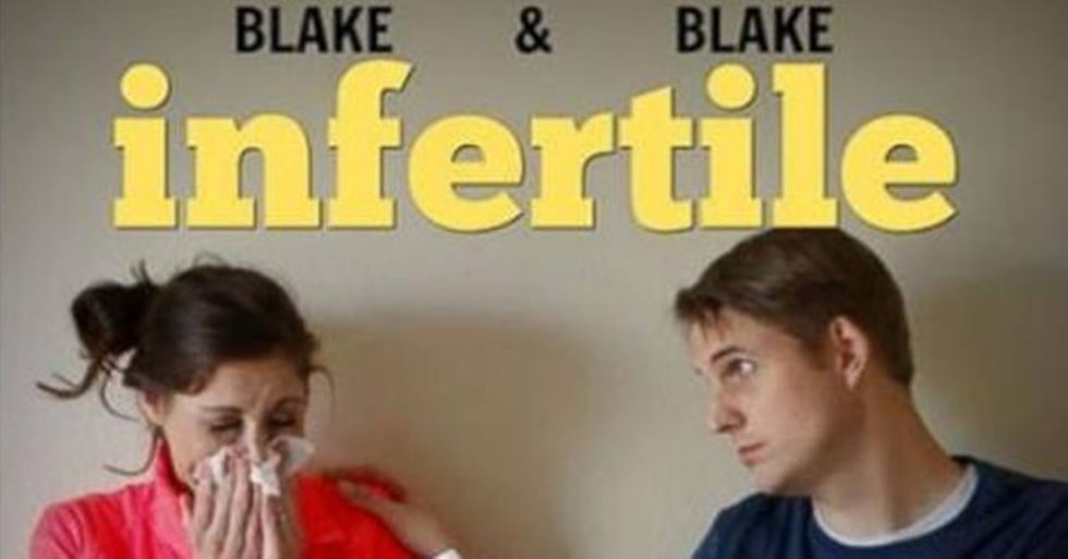 Couple's 'Infertility Announcements' Have Fun With A Tough Topic