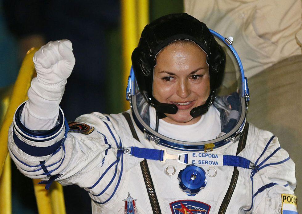 Women Astronauts Struggle To Break Earth's Glass Ceiling