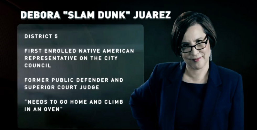 Samantha Bee Mocks Twitter Trolls By Celebrating A City Council Fantasy Team