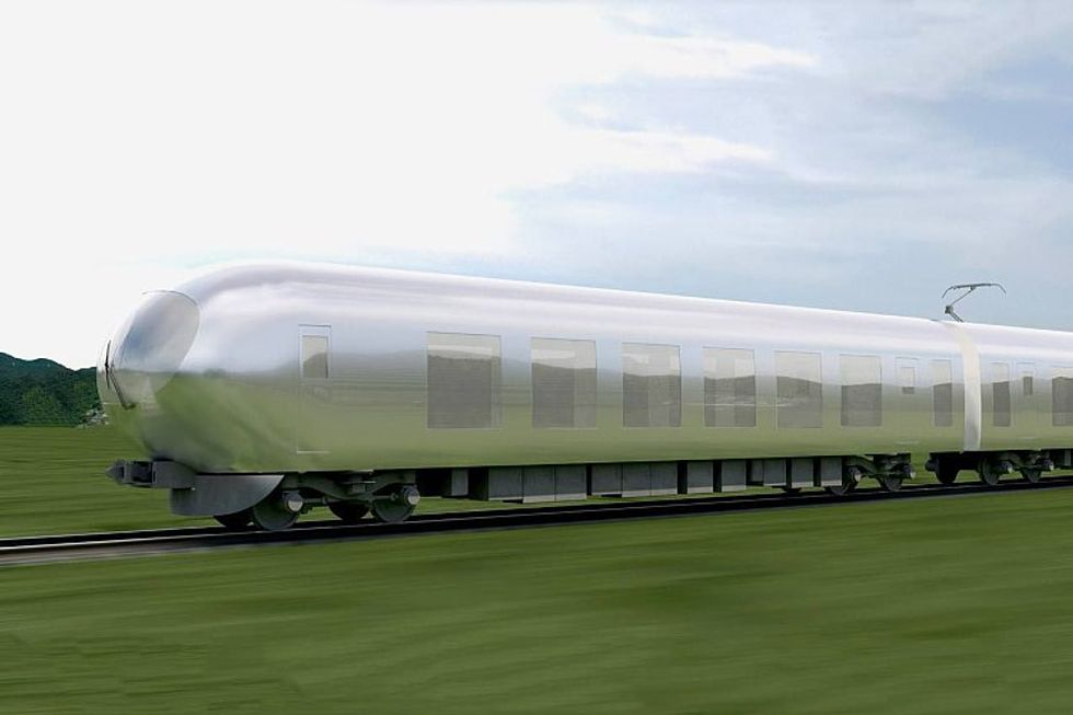 "Japan Is Getting High-Speed ""Invisible"" Trains"