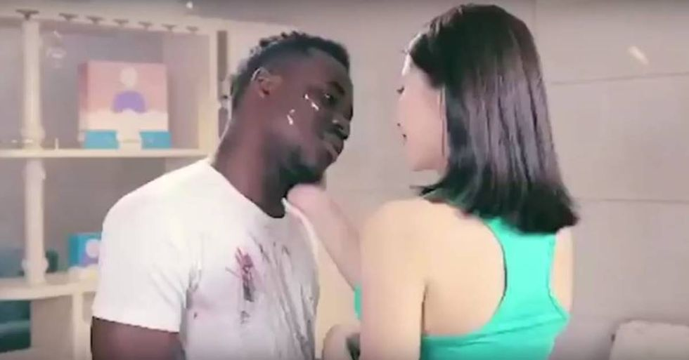Racist Chinese Detergent Ad Calls Attention To Long-Held Beliefs About Skin Tone