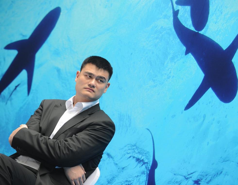 How Basketball Star Yao Ming Is Saving The World's Sharks