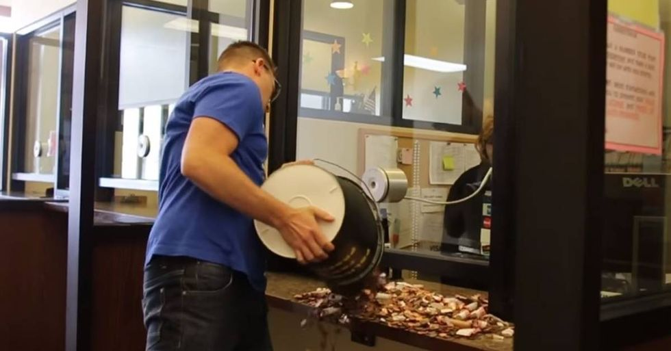 Man Pays Court Fine With 21,200 Pennies