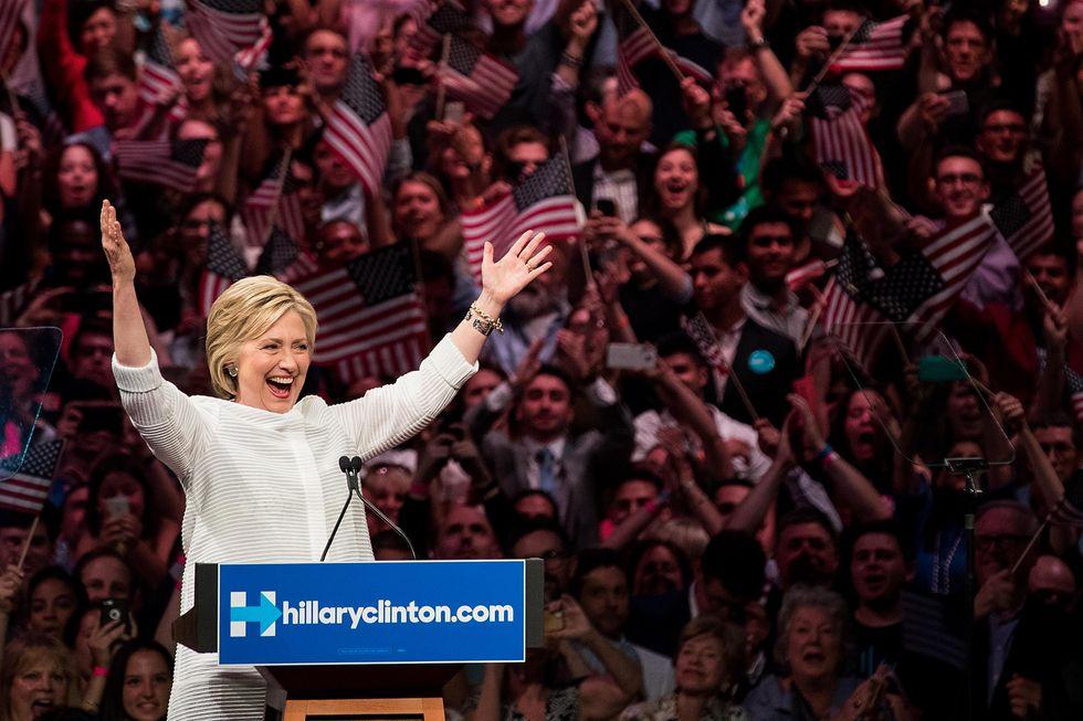 How Hillary Clinton Made Me Cry—Twice
