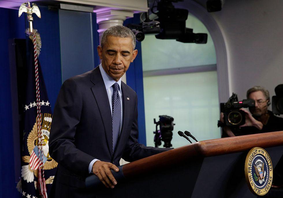 President Obama Delivers StatementOn Mass Shooting in Orlando