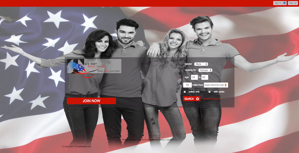 Inside Trumpsingles.com, The Exclusive Dating Site For Donald Supporters