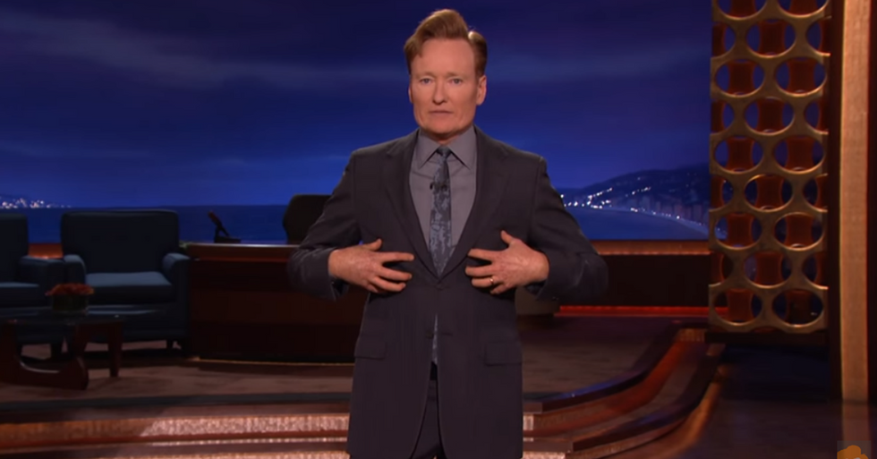 Late-Night Host Conan O'Brien Speaks Out On Gun Violence