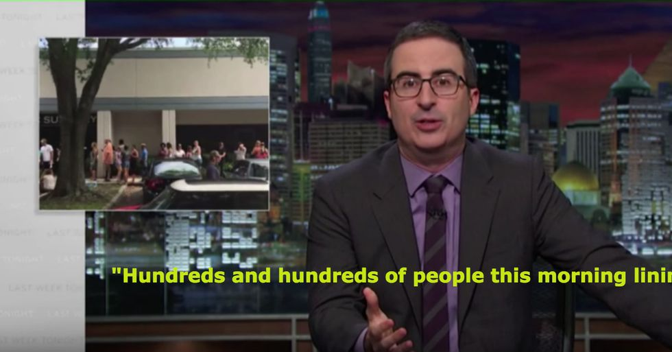 John Oliver on Orlando Shooting: The Terrorists Are Vastly Outnumbered By Good People