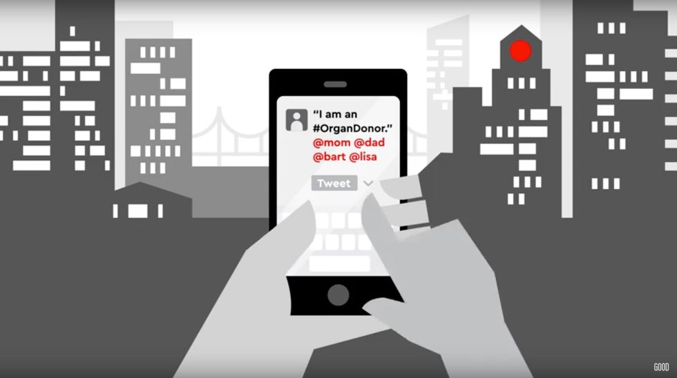 Using #OrganDonor Could Help Save Lives By Sending Tweets