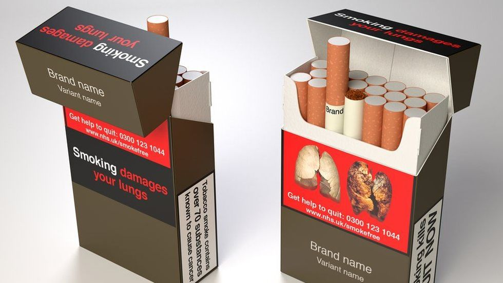 'World's Ugliest Color' Is Now On All UK Cigarette Packs