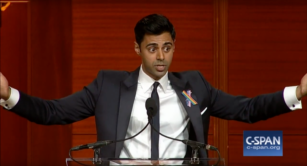 Comedian Hasan Minhaj Just Destroyed A Room Full Of Congresspeople For Failing On Gun Control