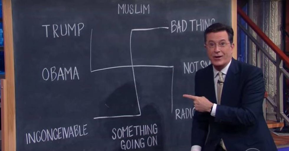 Stephen Colbert Calls Out Trump For His Reaction To The Orlando Tragedy