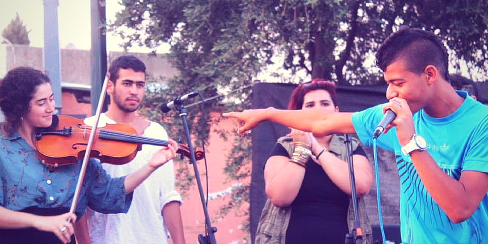 A Musical Literacy Program Combating Violence in the Middle East