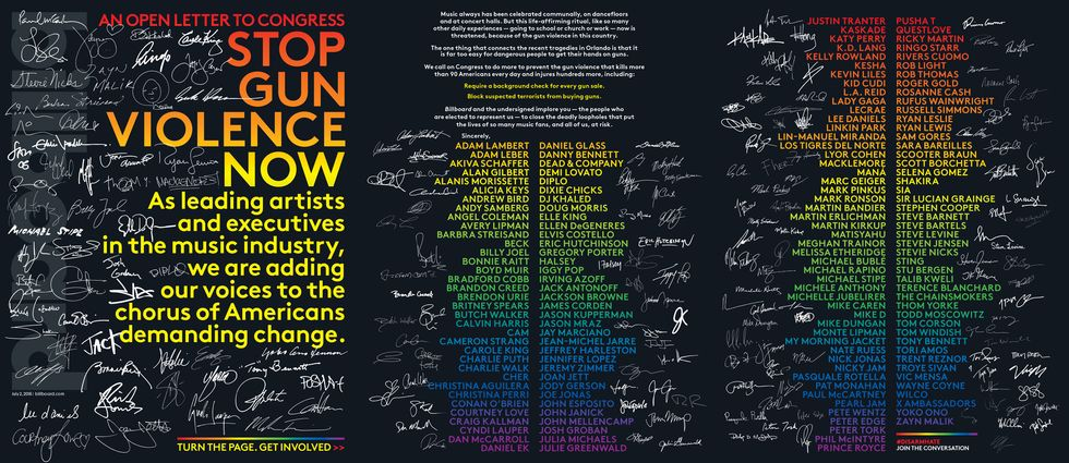 Ellen DeGeneres And Questlove Are Among 200 Celebrities Who Signed An Open Letter To Congress