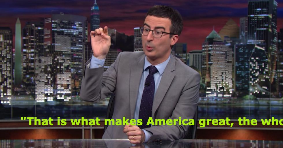John Oliver Eviscerates Our Obsession With Fireworks