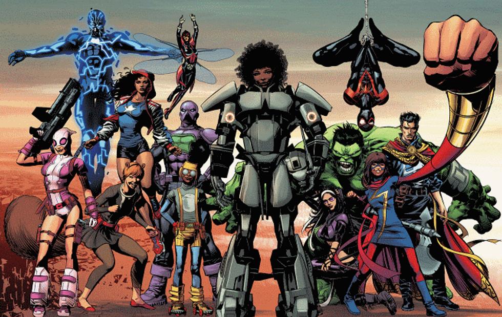 Meet Iron Woman, The Genius New Comic Superhero