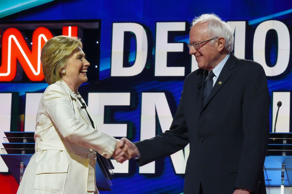 Hillary Clinton Just Took A Huge Page From The Bernie Playbook